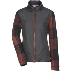 VAUDE Cyclist II Padded Jacket Women, grijs/bruin